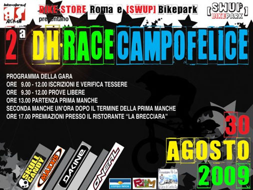 DH race flyer'