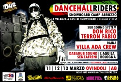 Dance Hall Riders flyer