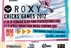 Roxy Chicks Games 2012 Flyer