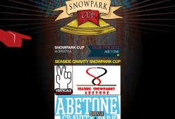 SNOWPARK CUP ABETONE LOCANDINA